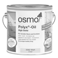 Osmo polyx oil used on our Bespoke Furniture in Norfolk